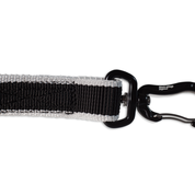 Non-Stop running line carabiner clip