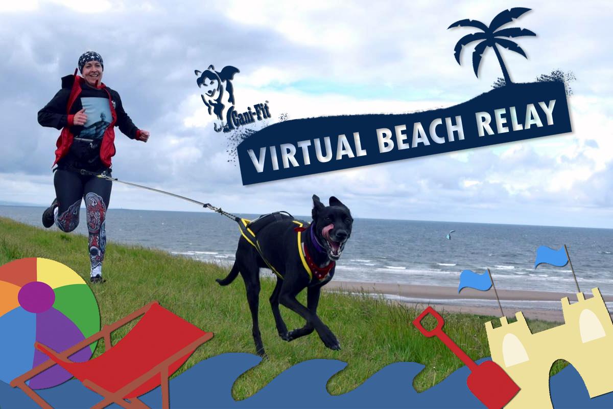 Virtual Beach Relay Race