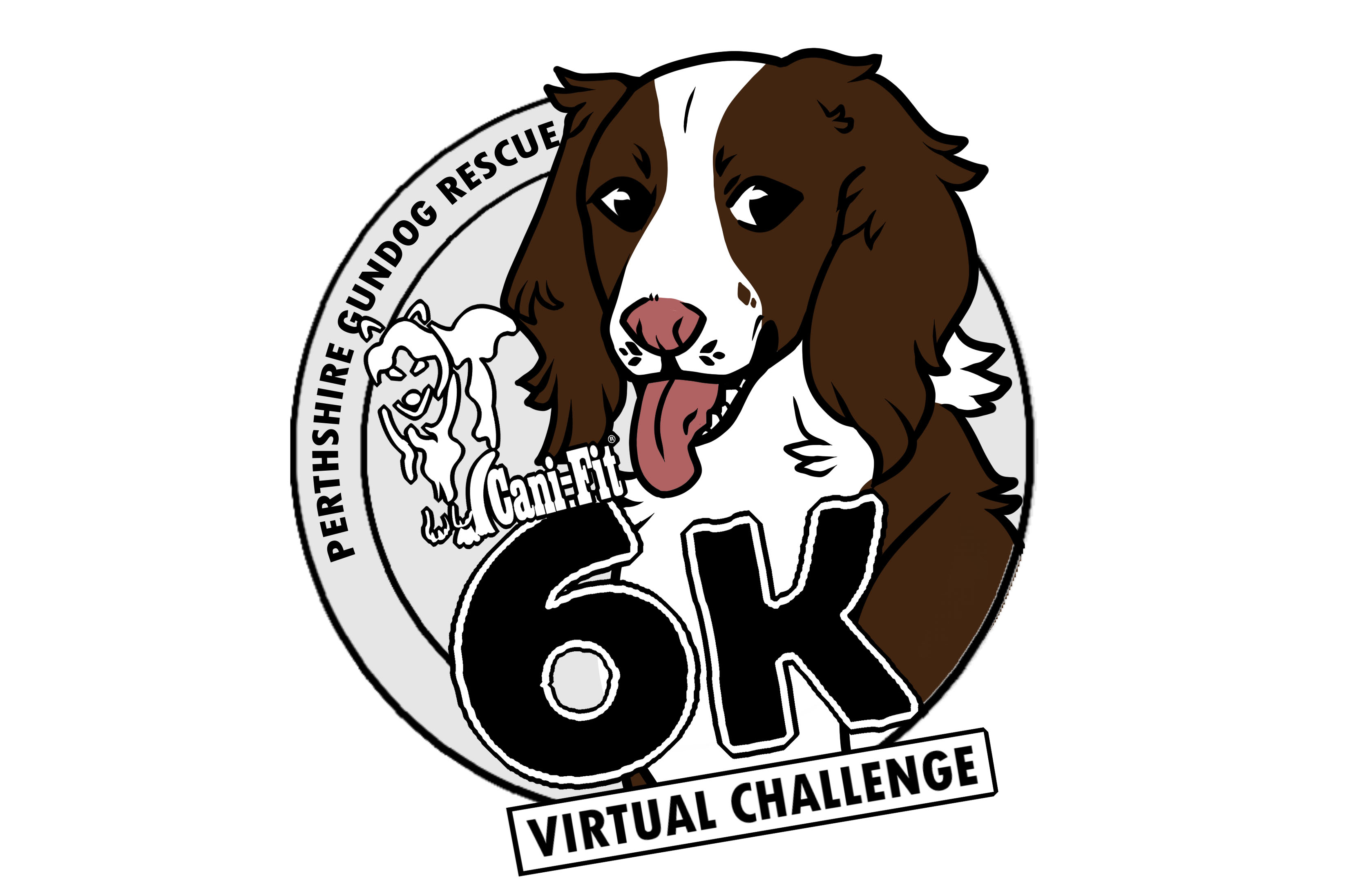 Cani-Fit Virtual Challenge - Perthshire Gundog Rescue SCIO 6K