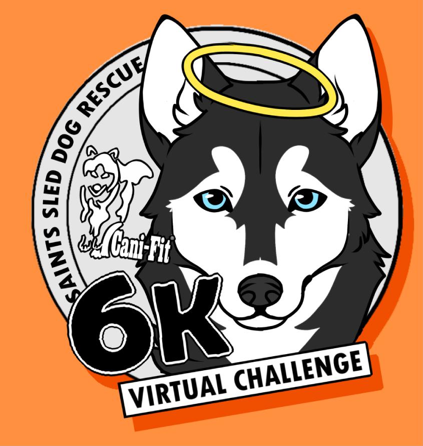 Cani-Fit Virtual Challenge - Saints Sled Dog Rescue 6k