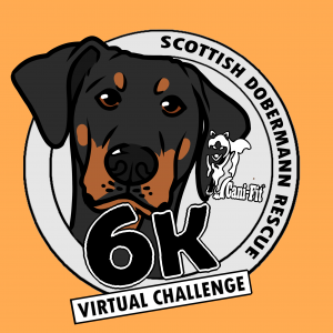 Cani-Fit Virtual Challenges – Scottish Dobermann Rescue
